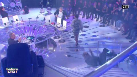VIDEO La chute très impressionnante de Franz-Olivier Giesbert dans Les Terriens du dimanche