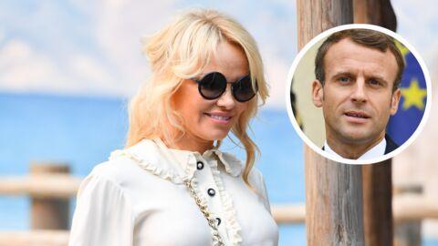 Emmanuel Macron: pourquoi Pamela Anderson a demandé à le rencontrer en personne