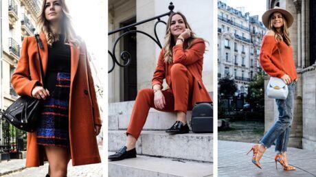 Style coach: 3 façons de porter la couleur orange