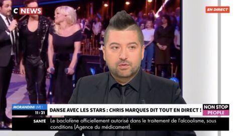 VIDEO DALS: Chris Marques répond à la polémique du départ de Pamela Anderson