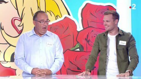 VIDEO Les Z'amours: la réaction hilarante d'un candidat choqué par l'étonnant record d'un autre participant