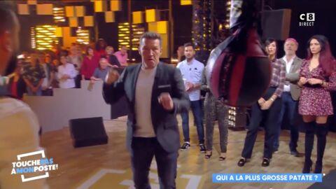 VIDEO Benjamin Castaldi chute violemment sur le plateau de TPMP