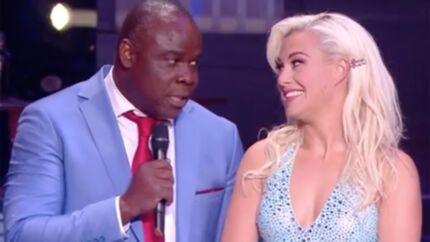 Danse avec les stars 9: Basile Boli éliminé, il rend un bel hommage à sa partenaire Katrina Patchett