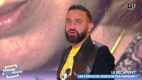 VIDEO Cyril Hanouna répond à Laurence Boccolini après s'être moqué de la mort de son chat