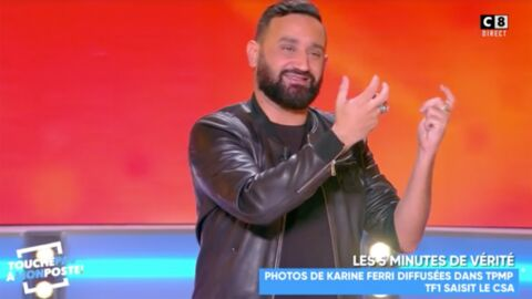 Cyril Hanouna attaqué par Karine Ferri et TF1, l'animateur «tombe des nues»