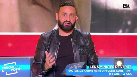 Cyril Hanouna: accusé de dénigrer Karine Ferri, il s'en prend violemment à TF1