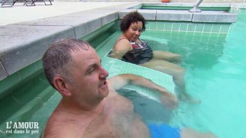 VIDEO Jean-Claude (L'amour est dans le pré 13): son IMMENSE dérapage avec Chantal à la piscine