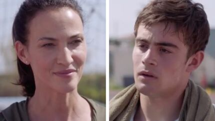 Demain nous appartient: comment Linda Hardy vit ses scènes «intimes» avec Clément Rémiens