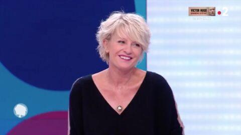 VIDEO Sophie Davant: son lapsus très coquin face à Dave dans C'est au programme