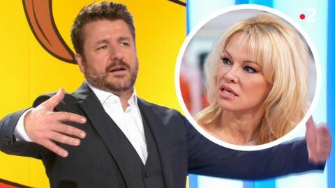 VIDEO Les Z'amours: Pamela Anderson taclée par Bruno Guillon sur le plateau de l'émission