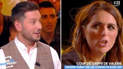VIDEO Touche pas à mon poste: Maxime Guény sur le départ? Valérie Bénaïm le met en garde