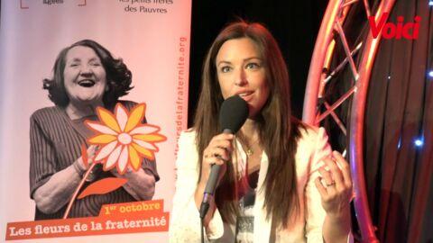 VIDEO Natasha St-Pier nous explique son absence aux Enfoirés et dévoile son nouvel engagement