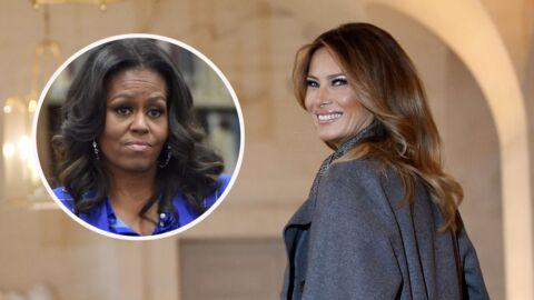 Melania Trump: comment elle a snobé Michelle Obama en arrivant à la Maison Blanche