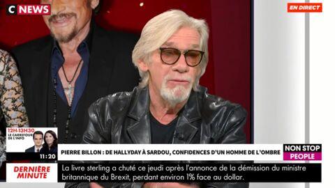 Johnny Hallyday accro à la cocaïne? Pierre Billon répond aux rumeurs
