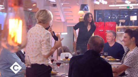 VIDEO Béatrice Dalle déchaînée dans C à vous: pourquoi elle a gâché la fin de l'émission