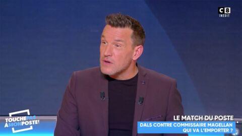 VIDEO Benjamin Castaldi: la réaction étonnante de Camille Combal quand ils se sont croisés à l'aéroport