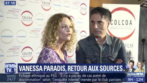 VIDEO Vanessa Paradis: sa tendre déclaration à Samuel Benchetrit