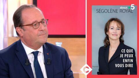 VIDEO François Hollande: très gêné, il répond aux attaques de Ségolène Royal dans C à Vous