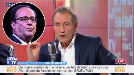 Jean-Jacques Bourdin excédé par François Hollande: le journaliste le fracasse en direct