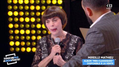 VIDEO Mireille Mathieu en larmes, elle évoque la mort de sa «petite maman»