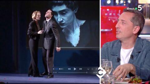 VIDEO Gad Elmaleh: ému de revoir son ex, Anne Brochet, il lui fait une jolie déclaration