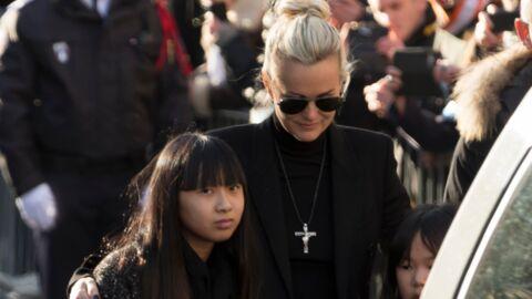VIDEO Laeticia Hallyday accusée de dicter à Jade les hommages à son papa