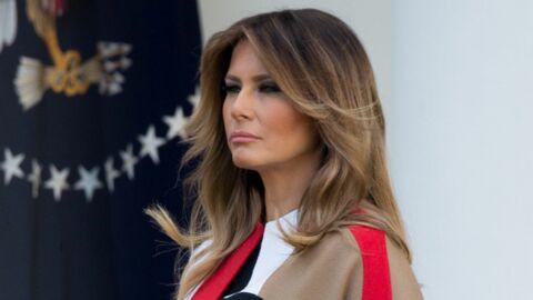 PHOTOS Melania Trump: sa nouvelle veste ulcère les Américains