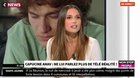 VIDEO Capucine Anav flingue les nouveaux candidats de téléréalité