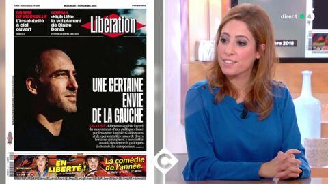 VIDEO Mal à l'aise, Léa Salamé évoque son compagnon Raphaël Glucksmann dans C à vous