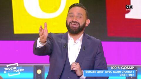 VIDEO Cyril Hanouna se moque de TF1 et Burger Quiz après le départ d'Alain Chabat
