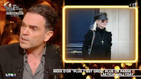VIDEO Yann Moix flingue Laeticia Hallyday dans Les Terriens du samedi… Et c'est violent!