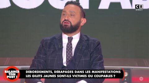 VIDEO Cyril Hanouna sidéré par le comportement d'un invité qui a quitté le plateau de Balance ton post