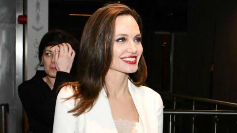 PHOTOS Angelina Jolie retrouve le sourire, à quelques jours de son procès contre Brad Pitt