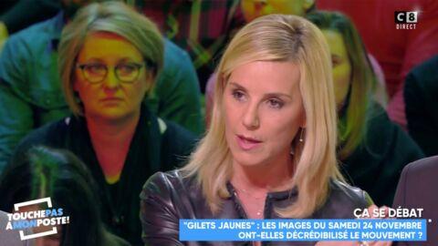 VIDEO Laurence Ferrari s'adresse aux Gilets Jaunes et leur fait une demande particulière