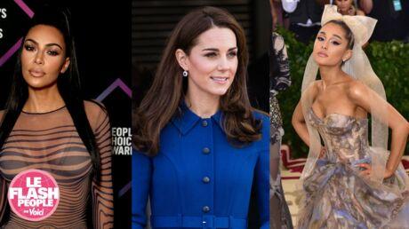 Podcast audio: Le sac à main de Kate Middleton, les aveux de Kim Kardashian… Le Flash People du jour