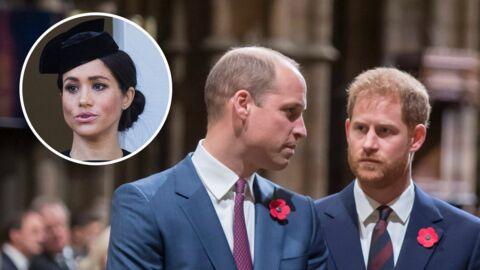 Meghan Markle au cœur d'une dispute entre les princes William et Harry: voici les raisons