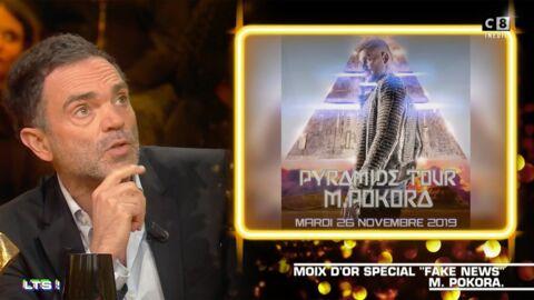 VIDEO Yann Moix tacle violemment M. Pokora pour l'affiche de sa nouvelle tournée