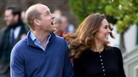 PHOTOS Kate Middleton et le prince William toujours aussi complices et amoureux pour le repas de Noël de la RAF