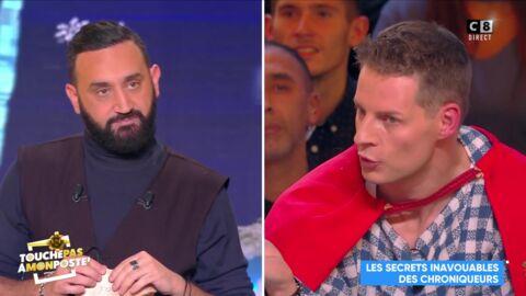VIDEO TPMP: Matthieu Delormeau avoue avoir volé de l'argent à Cyril Hanouna