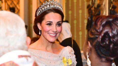 PHOTOS Kate Middleton rayonnante avec une tiare: son nouvel hommage à Lady Di