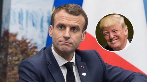 Emmanuel Macron: Donald Trump profite des Gilets jaunes pour le descendre