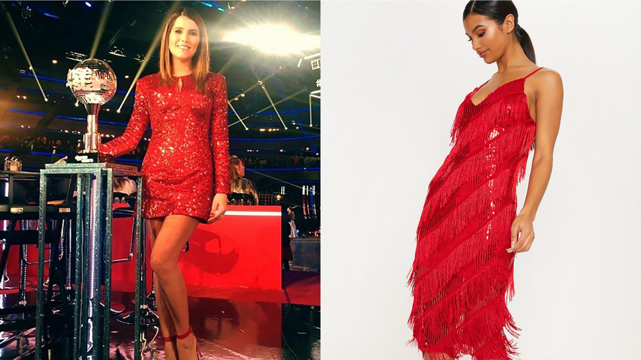 Karine Ferri Canon En Robe Glitter Rouge On Vous Propose 5 Alternatives A Petit Prix Voici