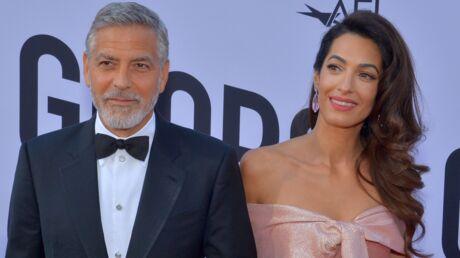 PHOTOS George et Amal Clooney: découvrez les visages de leurs jumeaux pour la première fois!