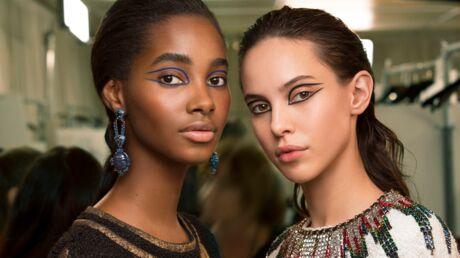 On aime… Le liner graphique du défilé Métiers d'Art de Chanel