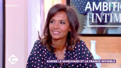 VIDEO Karine Le Marchand prête à faire de la chirurgie esthétique? Elle répond sans détour