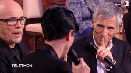 VIDEO Nagui: le présentateur a les larmes aux yeux sur le plateau du Téléthon