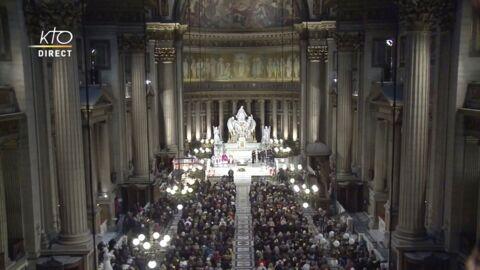 Johnny Hallyday à la Madeleine: revivez la messe hommage au chanteur pour l'anniversaire de sa mort