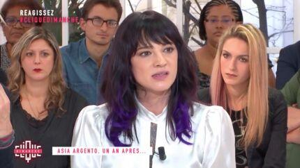 VIDEO Asia Argento: interrogée sur Jimmy Bennett, elle recale sèchement Mouloud Achour