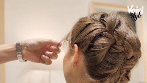 VIDEO Cheveux – Comment réaliser une coiffure pour les fêtes en moins de 10 minutes?