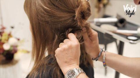 VIDEO Cheveux – comment réaliser une coiffure ultra simple pour se rendre à un date?